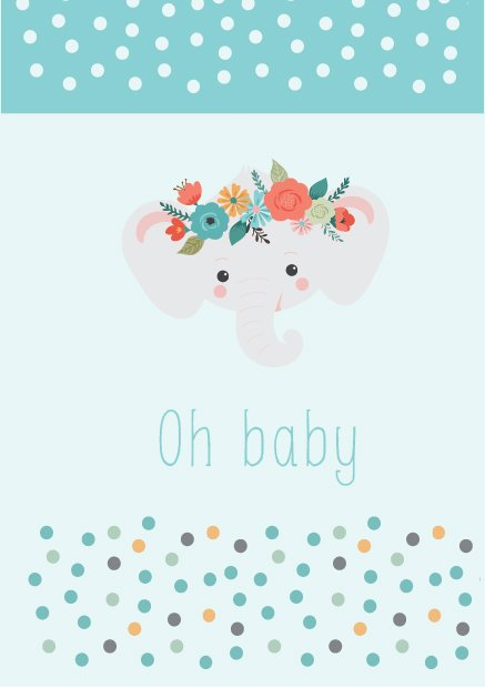 oh baby card